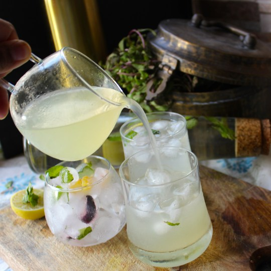 Lemonade – the traditional way!