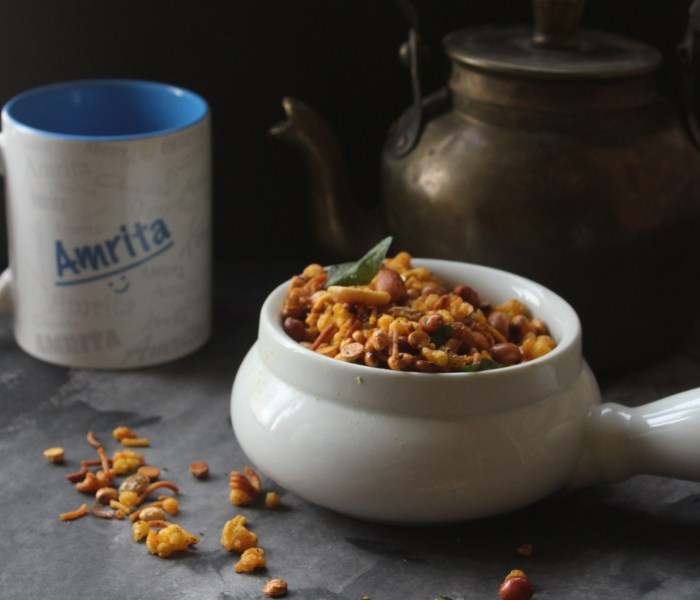 Madras Mixture (delicious South Indian Trail Mix)