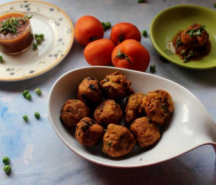 Colocasia (Arbi) Balls in Tangy Tomato Sauce