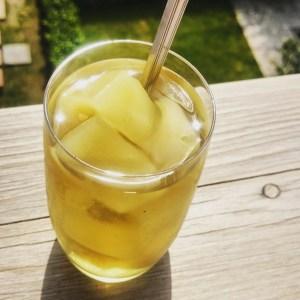 green tea ice mango
