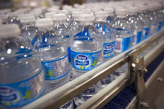 Nestle Water Prices