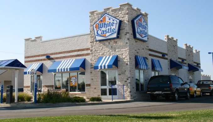 White Castle menu with prices