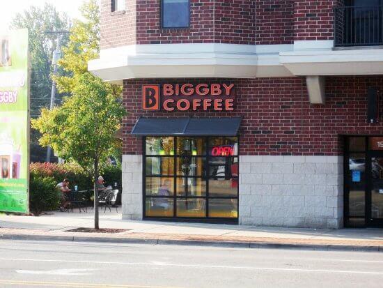 Biggby coffee franchise