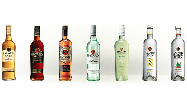 Bacardi prices