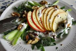 Waldorf Salad recipe with Blue Cheese