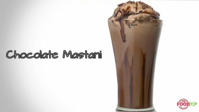 Chocolate Mastani recipe