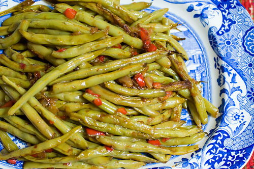 Crack Green Beans recipe