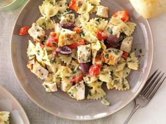 Roasted Chicken and Bow-Tie Pasta Salad