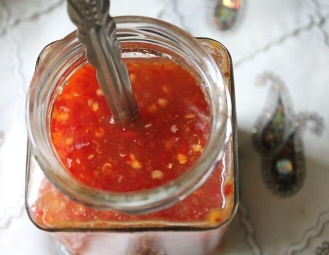 Thai Sweet Chili Sauce recipe