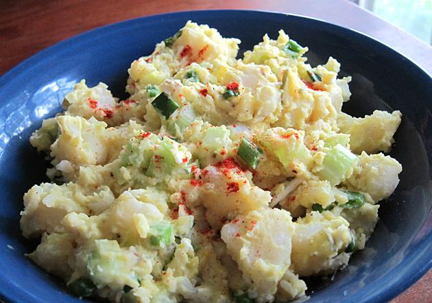 Yucatan Potato Salad recipe