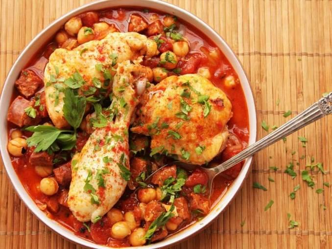 chicken chickpea stew recipe