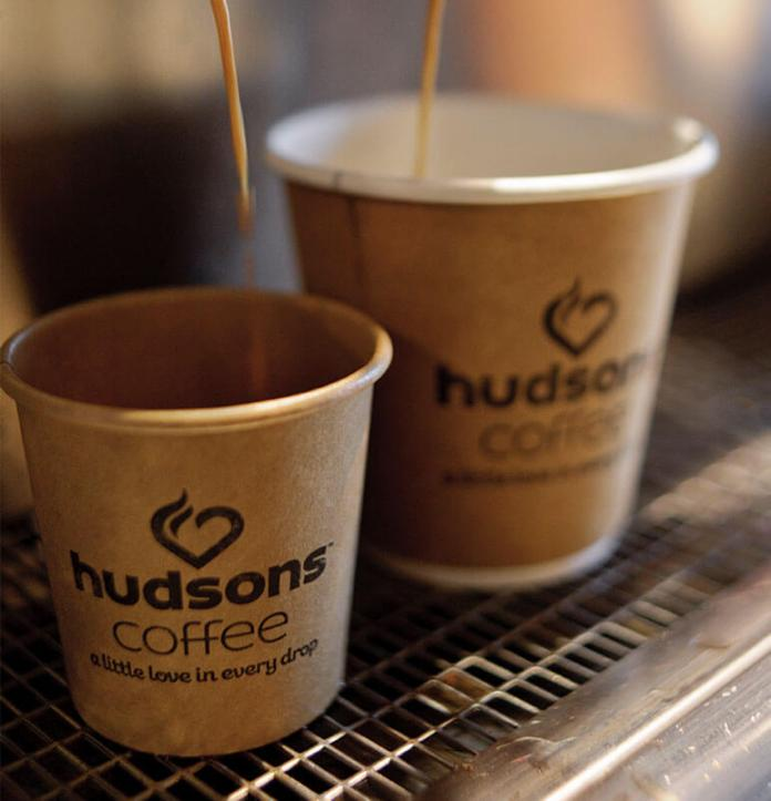 Hudsons Coffee menu