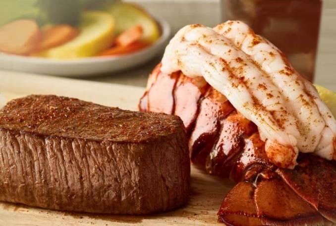 Outback Steakhouse menu