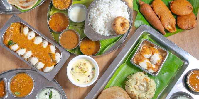 Sarvana Bhavan Menu
