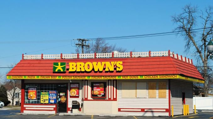Browns chicken and Pasta Store