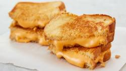 Alton Brown Grilled Cheese recipe