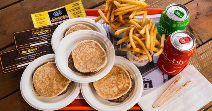 Dic Ann's Hamburgers menu