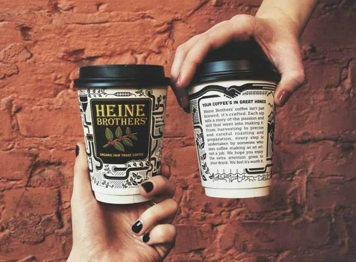 Heine Brothers Menu