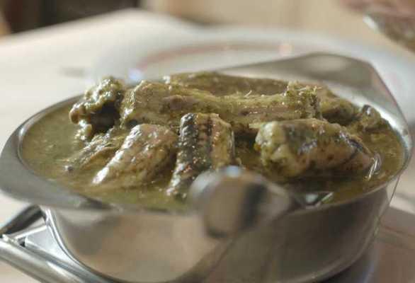 Baby Eel in Green Sauce recipe