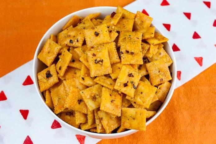 Spicy Cheese Cracker