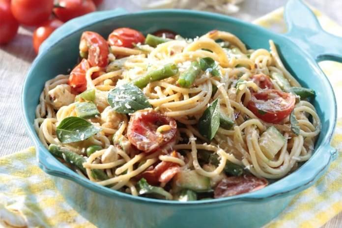 Greek Spaghetti recipe