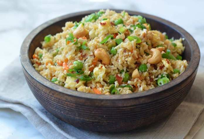 Broccoli Cashew Fried Rice