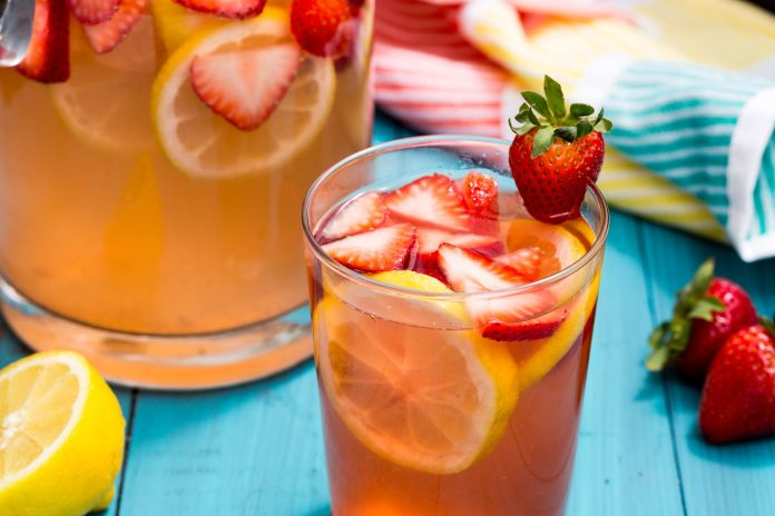 Sparkling Strawberry Lemonade Recipe