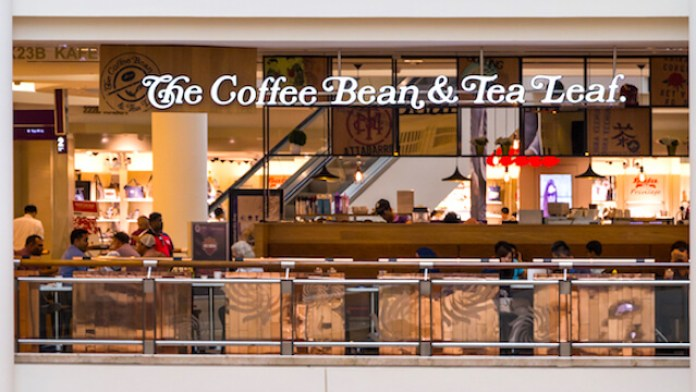 Outlet of The Coffee Bean and Tea Leaf Franchise