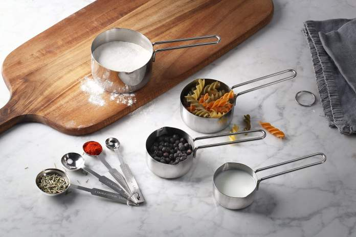 New Star Foodservice 42917 stainless steel measuring spoons