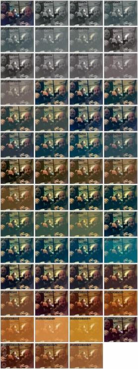 g'mic Film emulation: Instant Consumer collage