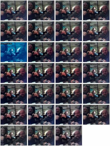 g'mic Film emulation: Slides collage