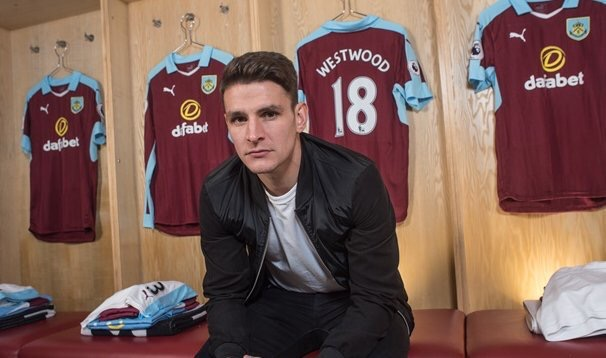 Ashley Westwood has completed a £5million move from Aston Villa to Burnley