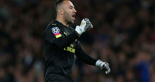 David Ospina in goal for Arsenal
