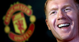 Paul Scholes formerly of Manchester United