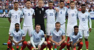 England squad at Euro 2016 in France