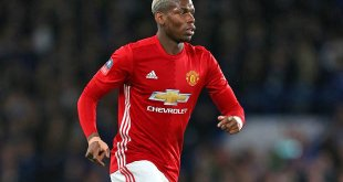 Paul Pogba in action for Manchester United in the FA Cup defeat to Chelsea