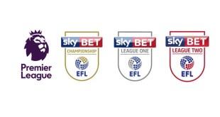 Premier League, Championship, League 1, League 2