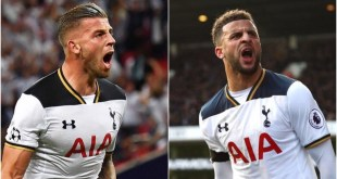 Toby Alderweireld and Kyle Walker