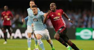 Paul Pogba against Celta Vigo
