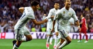 Ronaldo scores for Real Madrid against Sevilla