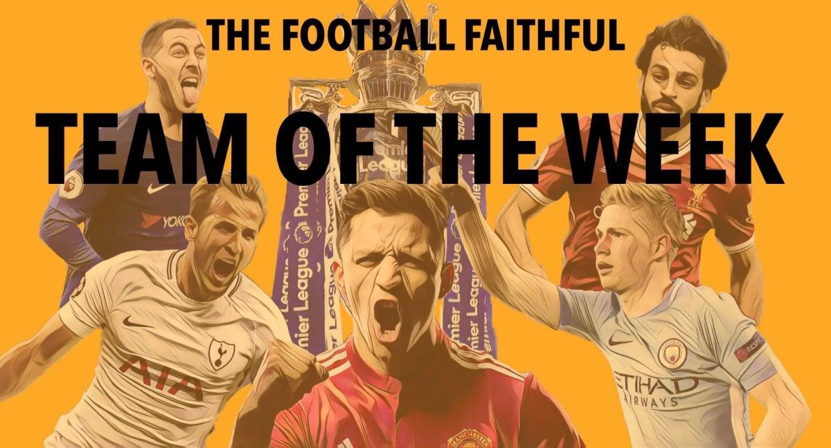 Premier League: Team of the week