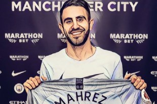 Manchester City sign Riyad Mahrez