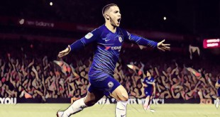 Eden Hazard scores the winner in Chelsea's 2-1 Carabao Cup win over Liverpool