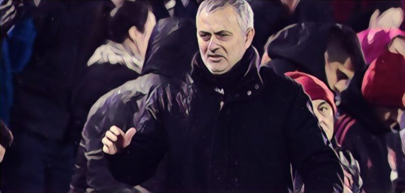Mourinho reckons Manchester United can still finish in the top four