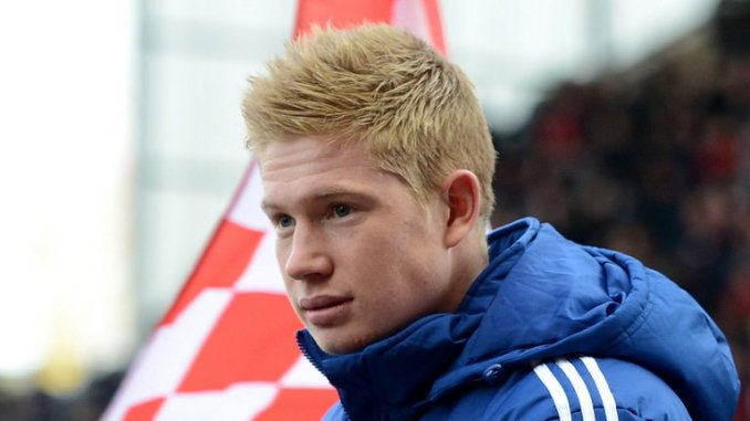 De Bruyne: Quite brilliant going forward