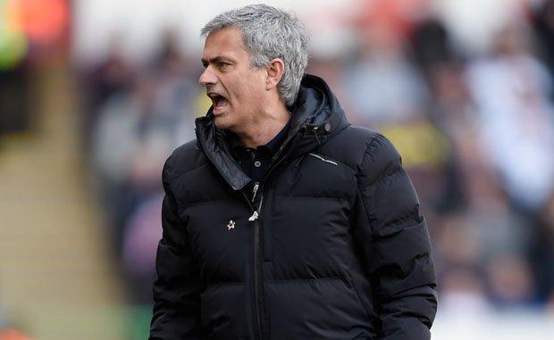 Mourinho Angry