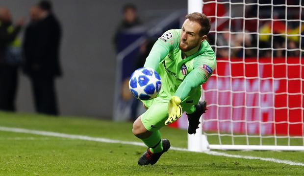 Jan Oblak Atletico Madrid save