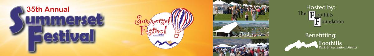 2019 Summerset Festival   The Foothills Foundation
