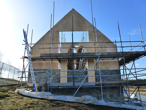 building the chapel