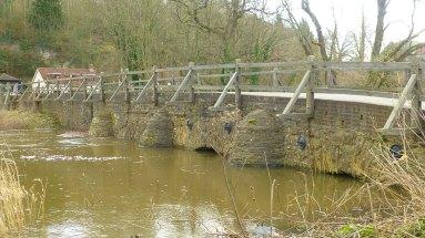 Medieval bridge at Eashing